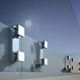 Befestigungssystem aus anodisiertem Aluminium / für Glasfassade
