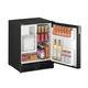 Kühlschrank für Boote / Unterbau / schwarz / Eiswürfelspender