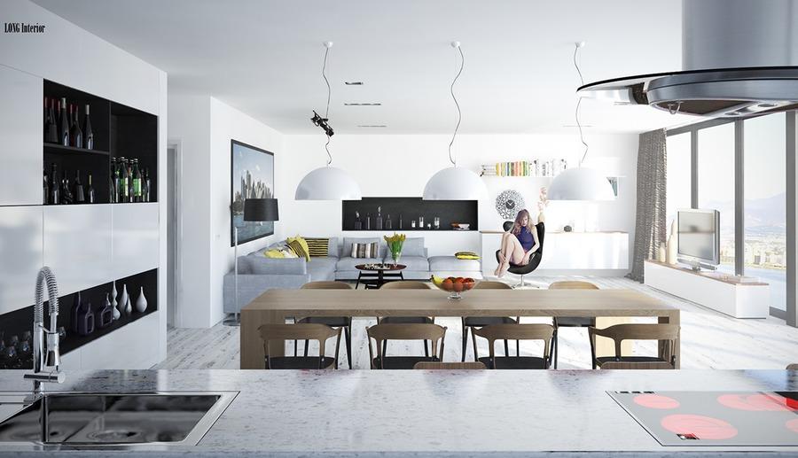 20 kreative wohnzimmer für art-inspiration - poland, Wohnzimmer