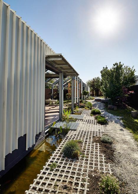 Andrew Maynard fügt Gewächshaus-wie Verlängerung einem Melbourne ...