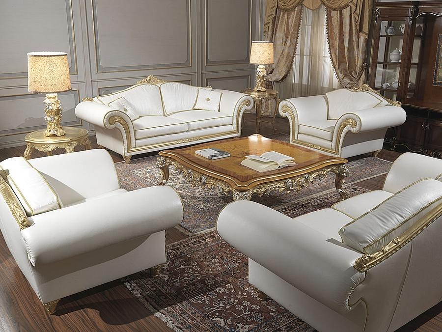 Klassische Sofas ansammlungen klassische sofas modellieren imperiales im weißen leder
