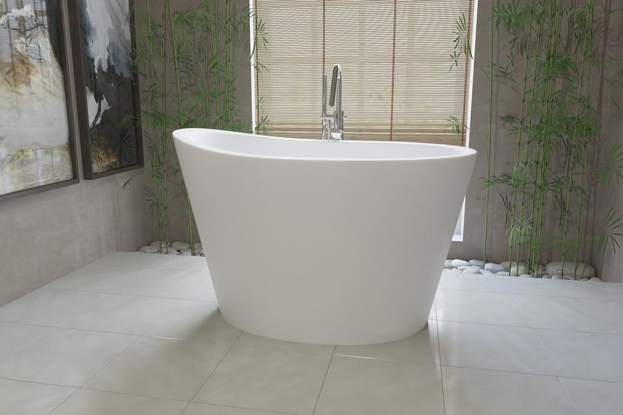 Japanische Badewanne aquatica true ofuro freistehende stein badewanne bellevue wa usa