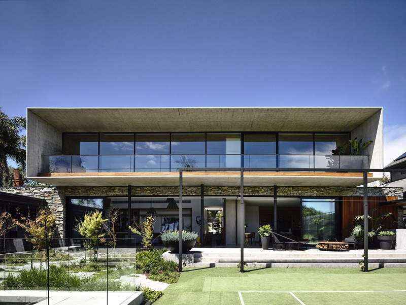 Architektur Entwurf Matt Gibson Ein Konkretes Haus In Melbourne