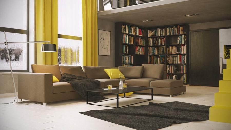 Ausgereiftes Gelb: 7 Beruhigende Wohnungen Mit Sonnigen Akzenten