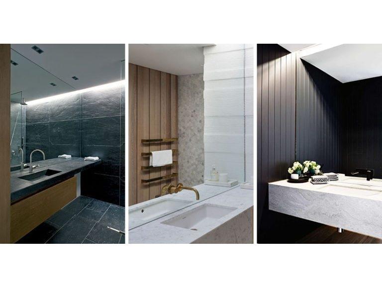 Badezimmer Spiegel Ideen U2013 Füllen Sie Die Ganze Wand