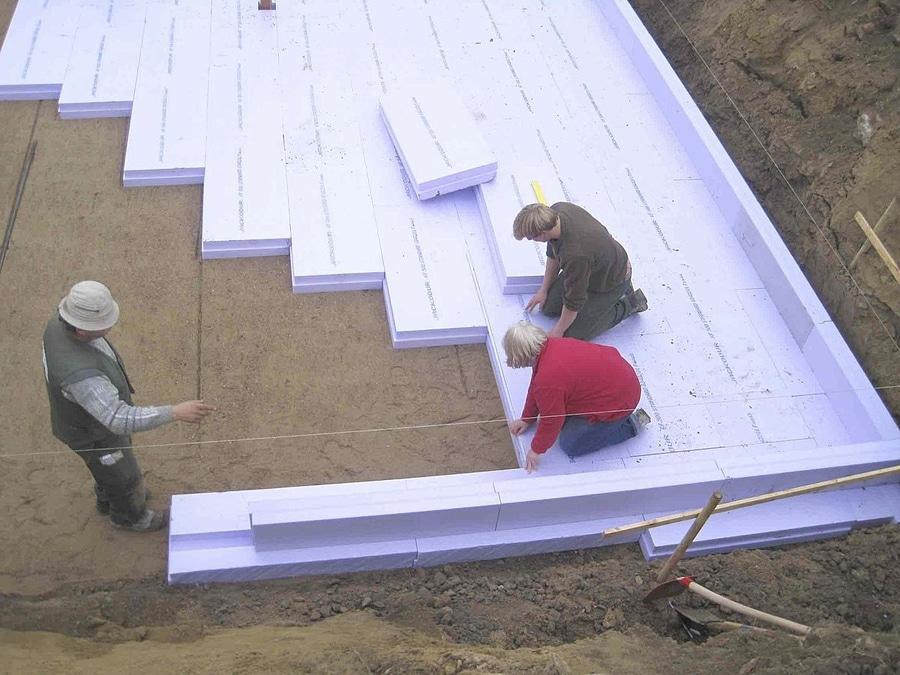 Fußbodenplatten Mit Dämmung ~ Bodenplattendämmung jackodur atlas jackon insulation