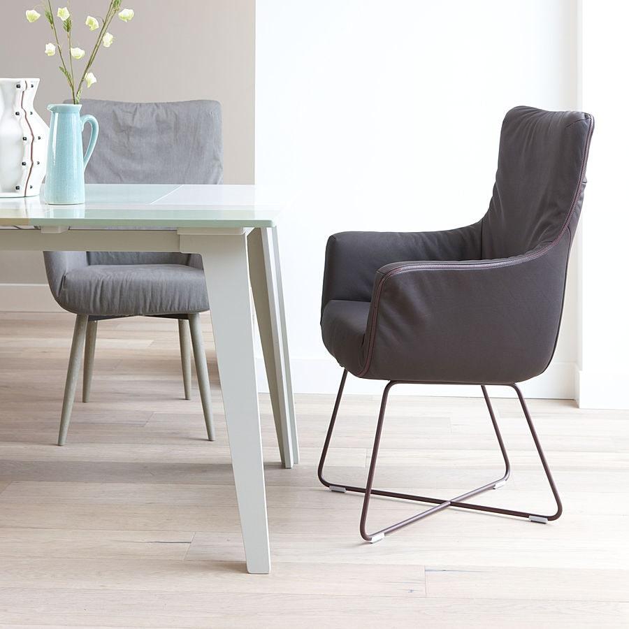Esstisch sessel modern  Chief - Ein Lounge-Sessel für den Esstisch. - Label Produkties bv