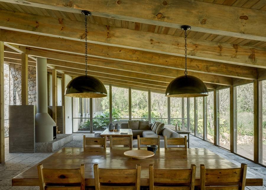 Cm Arquitectos Errichtet Timber Framed Santana Haus Im Mexikanischen  Waldland