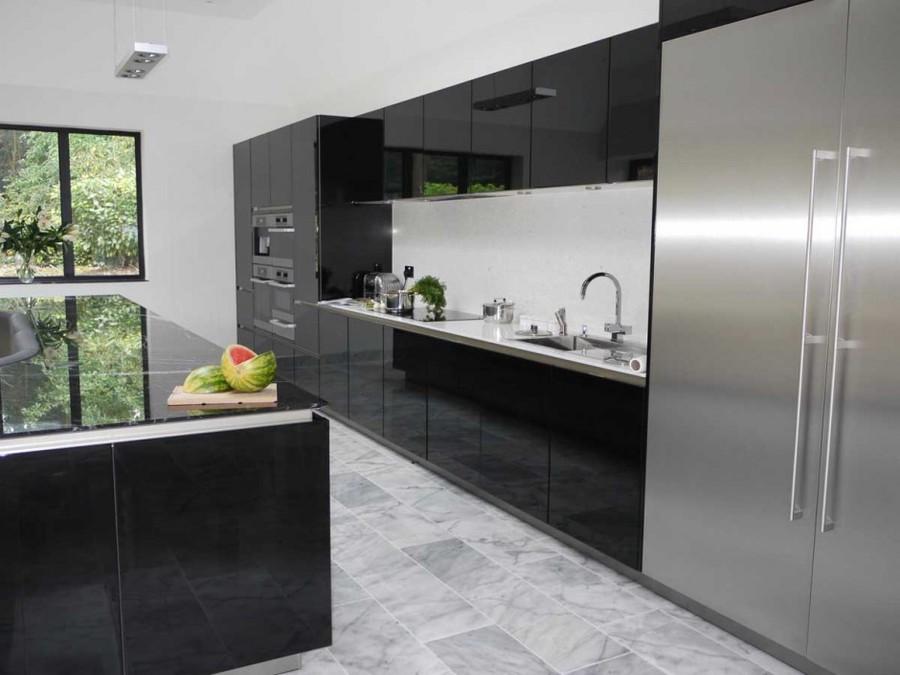 diese küche hat eine insel mit einem eingebauten sofa - winchester ... - Sofa Für Küche