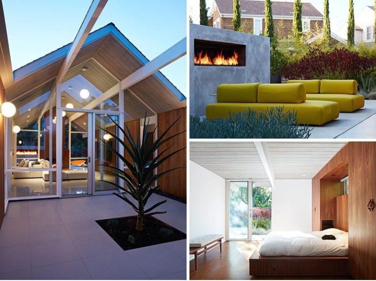 Entzuckend Dieses Mitte Des Jahrhunderts Moderne Eichler Haus In Kalifornien Erhielt  Einen Zeitgenossen Umgestalten