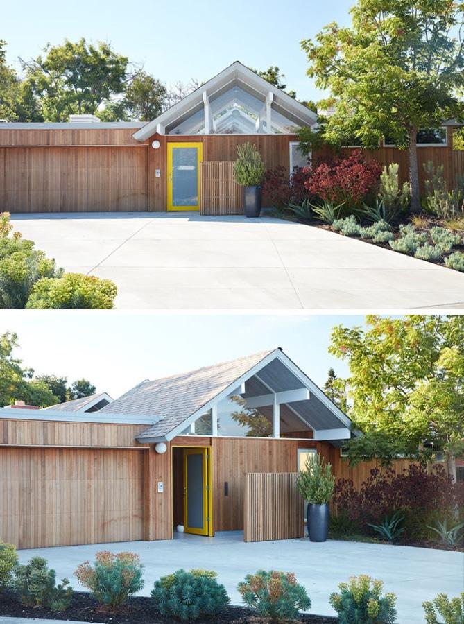 Dieses Mitte Des Jahrhunderts Moderne Eichler Haus In Kalifornien Erhielt  Einen Zeitgenossen Umgestalten