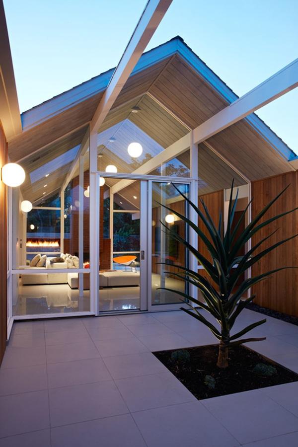 Attraktiv Dieses Mitte Des Jahrhunderts Moderne Eichler Haus In Kalifornien Erhielt  Einen Zeitgenossen Umgestalten