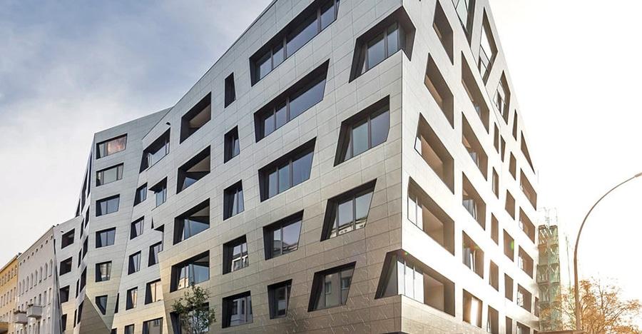 High Quality Dieses Neue Berlin Wohngebäude Reinigt Buchstäblich Die Luft Der Stadt
