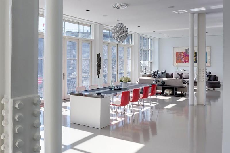 Fußboden Wohnung English ~ Drei brooklyn wohnungen kombinierten in ein voll fußboden
