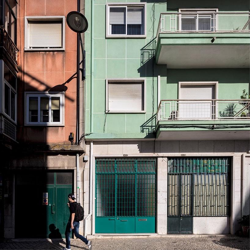 Awesome Fala Atelier Wandelt Fensterlose Garage In Lissabon In Ein Angenehmes +  Characterful Haus Um