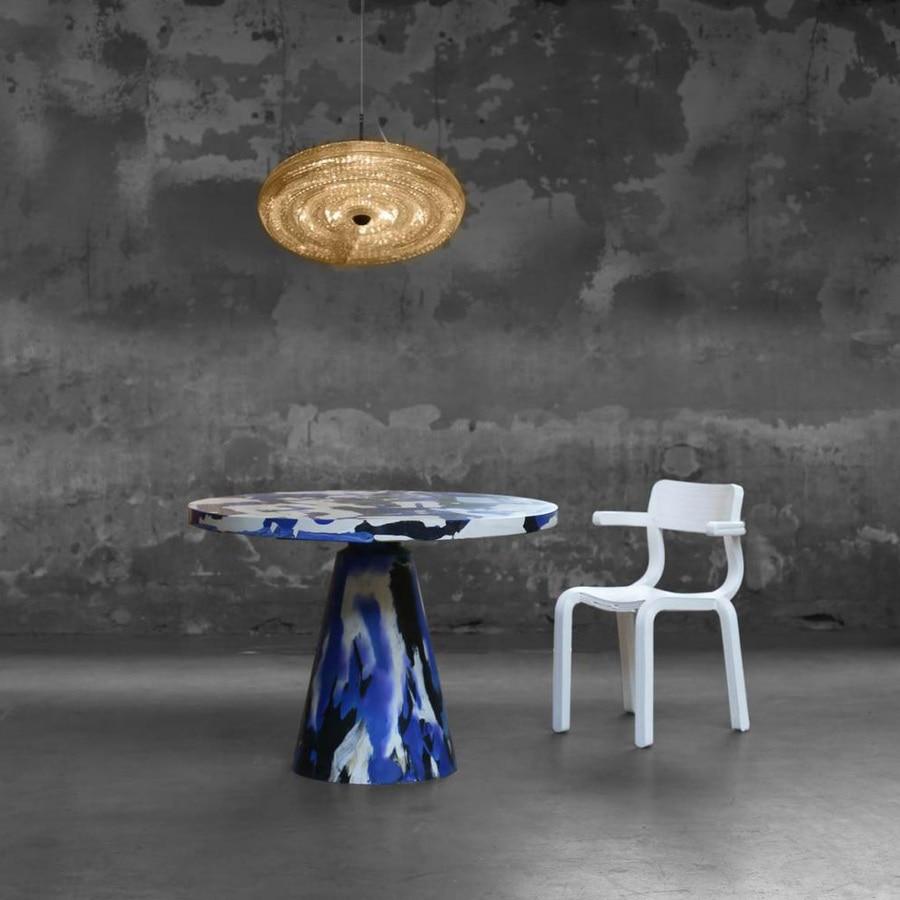 fresnel-schwebende lampe durch dirk vander kooij - zaandam, netherlands