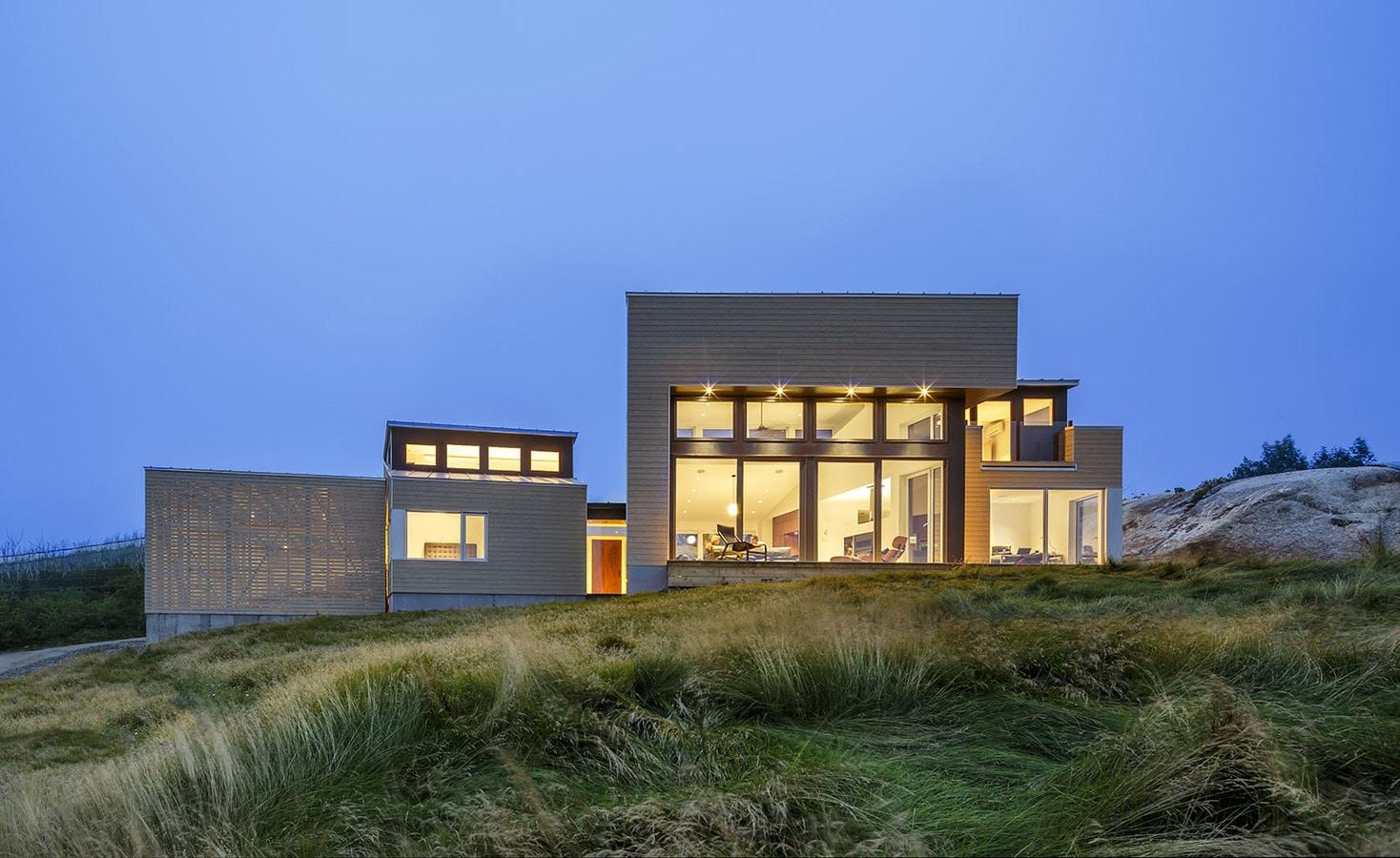 Auf den Felsen: Omar Gandhi entwirft ein neues Haus für die ...