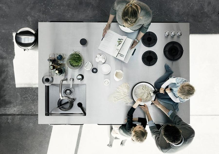 Island Moderne Kuche By Vipp Vipp
