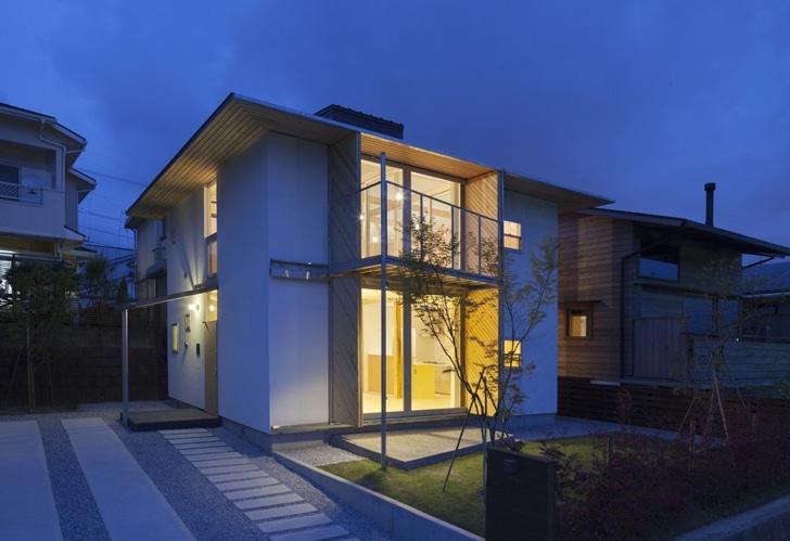 Exceptional Japanisches Haus Verwendet Hölzernes Materielles Stärkeres Als Stahl, Um  Naturkatastrophen Zu Bekämpfen