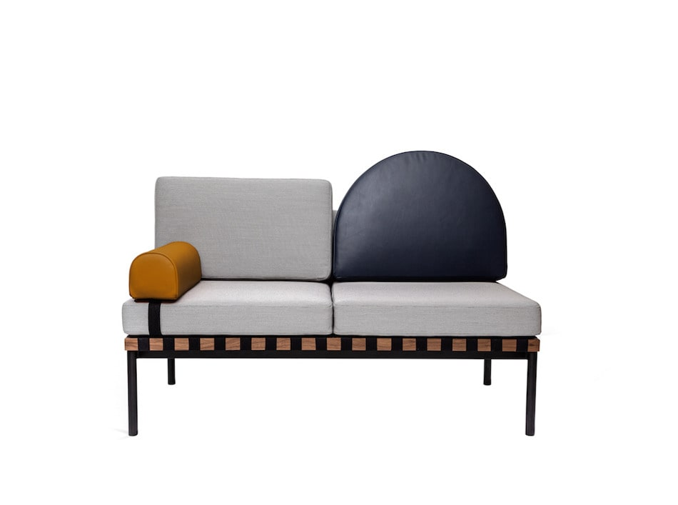 Lache Debuts Modulares Sofa Daybed Fur Zierliches Friture France
