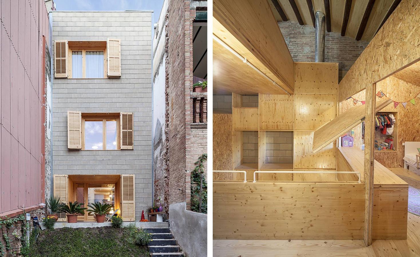 Ein Haus innerhalb eines Hauses: Historischen Sant Cugats ...