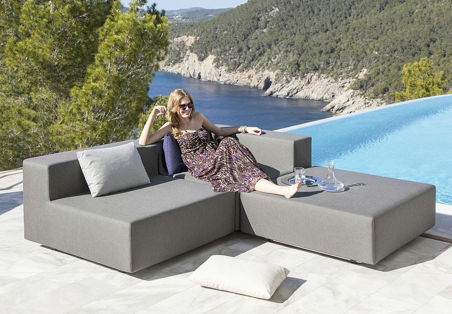 Schon Das Modulare Wasserfeste Lounge Gartenmöbel LOOP Ist Modern Und Zeitlos
