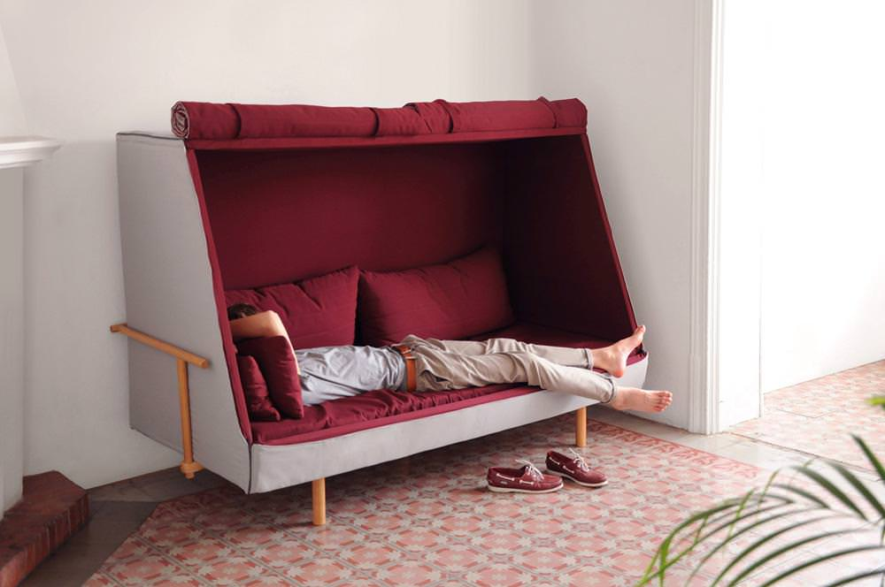 Orwell durch Sofa-Bett-Kabine durch Goula/Figuera - Barcelona ...