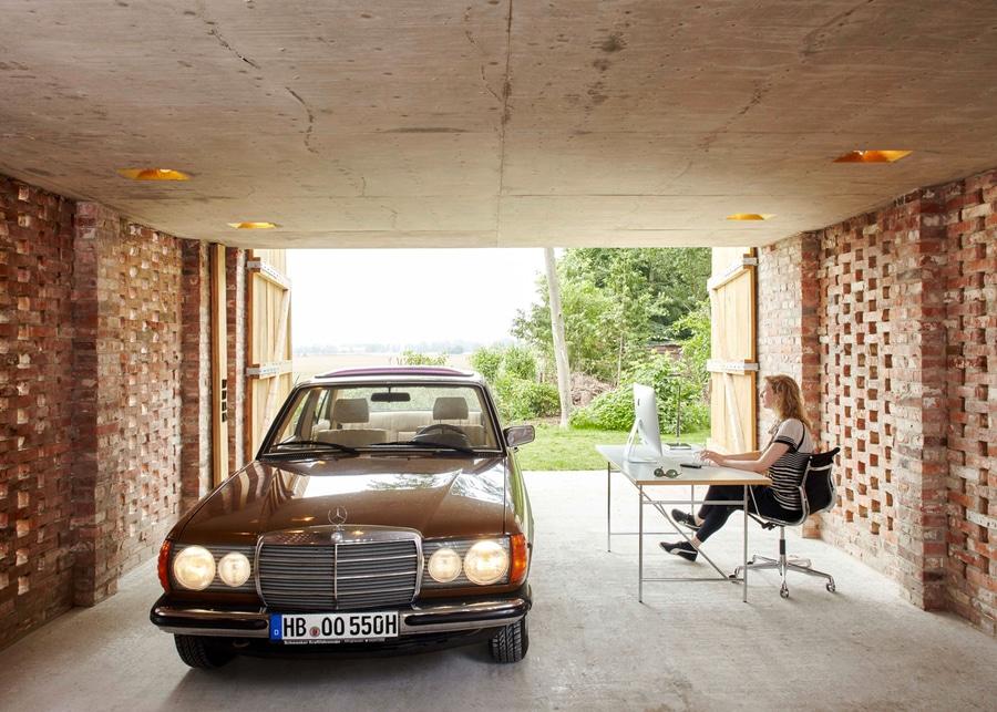 ziegelsteine für garage