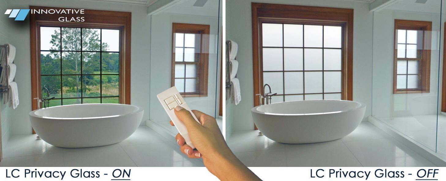 Privatleben-Glas-Badezimmer - 130 Newtown Rd, Plainview, NY 11803, USA