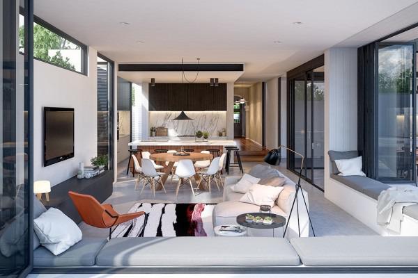 Reizende Wohnzimmer Für Ein Entwurfs Liebevolles Leben