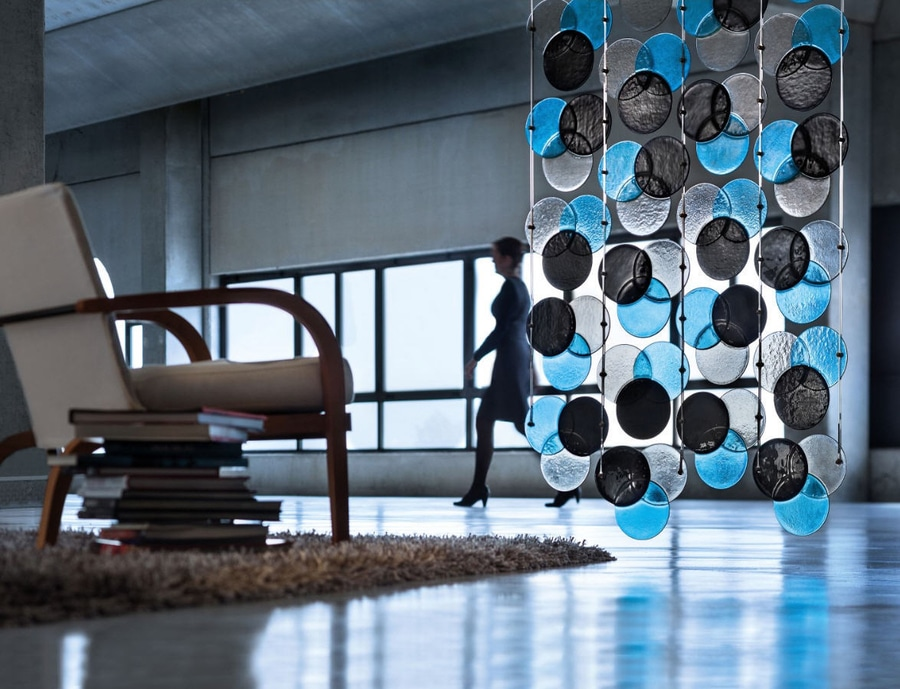Rgb Vorhang Raumteiler Entwurf Bogen Massimo Brignoni Italy