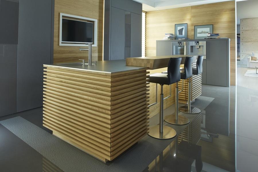 Rust Kitchen lässt mit einer Küche aus Lapitec® an Venezia denken ...