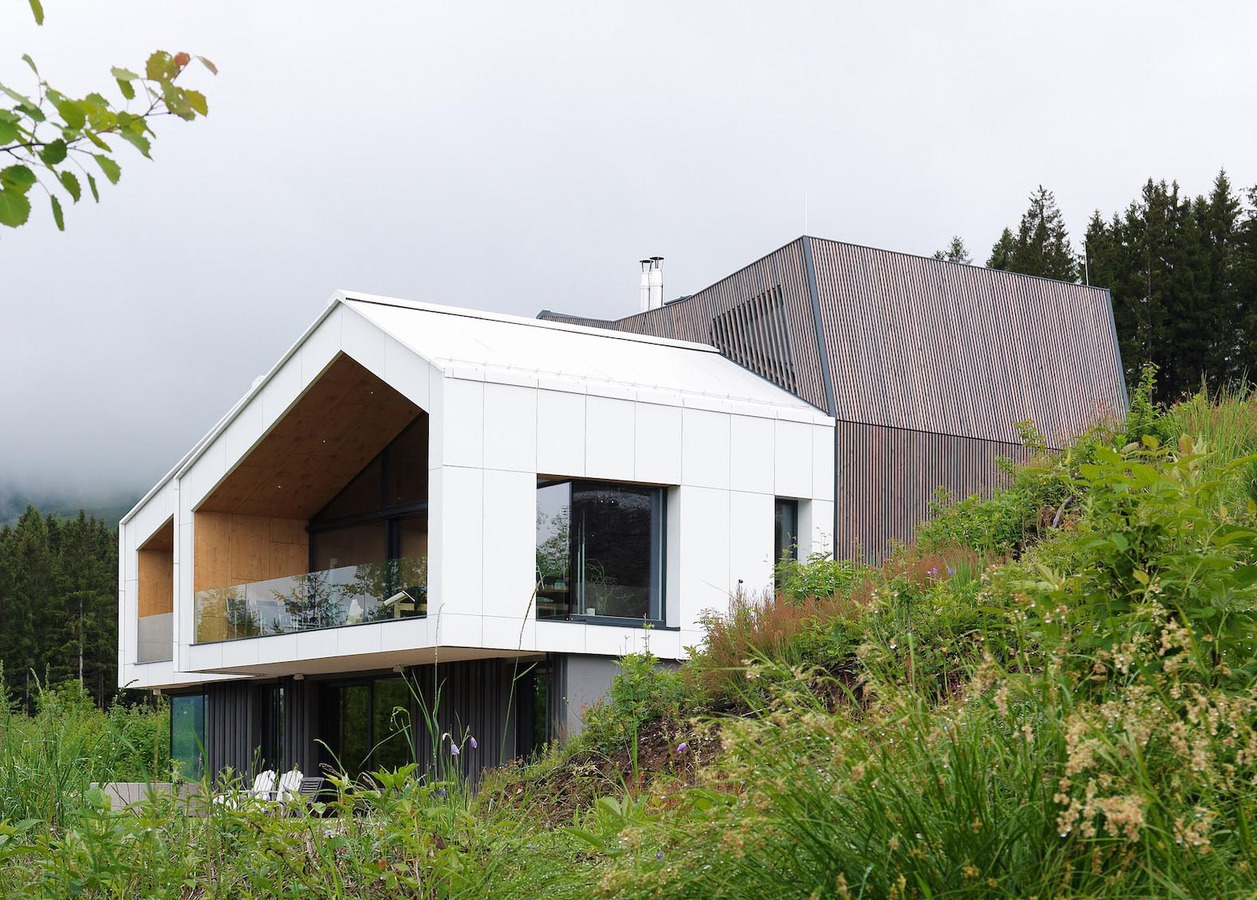 Architektur Ansicht sono architekten berg ansicht haus rühmt sich erstaunliche