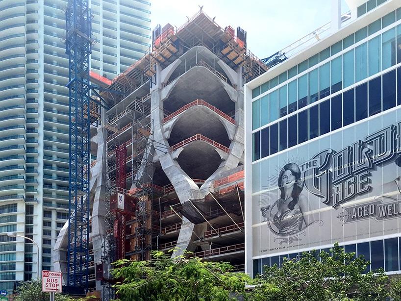 tausend Museum durch zaha hadid Architekten nimmt in Miami Gestalt ...