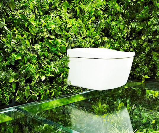 Überraschendes Grün-Geummauertes japanisches Badezimmer beantwortet ...