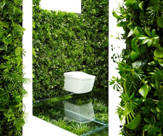 Überraschendes grün-geummauertes japanisches badezimmer, Badezimmer