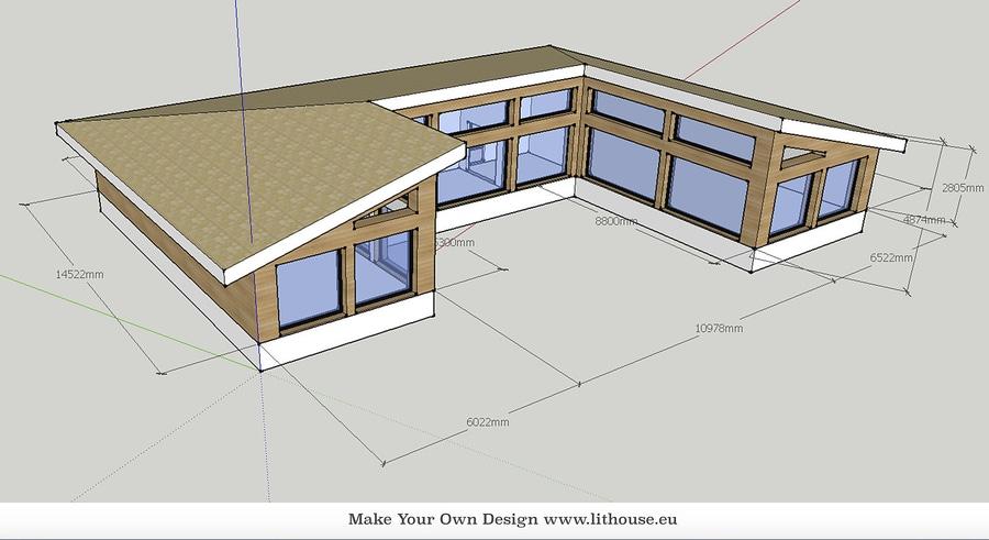 Verursachen Sie Ihren Eigenen Haus Entwurf