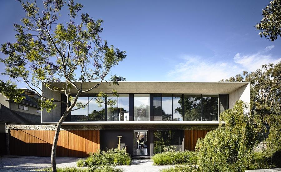 Wie Der Name Schon Andeutet Wird Konkretes Haus Durch Klassische Konkrete Moderne Architektur Besonders Brasilianische