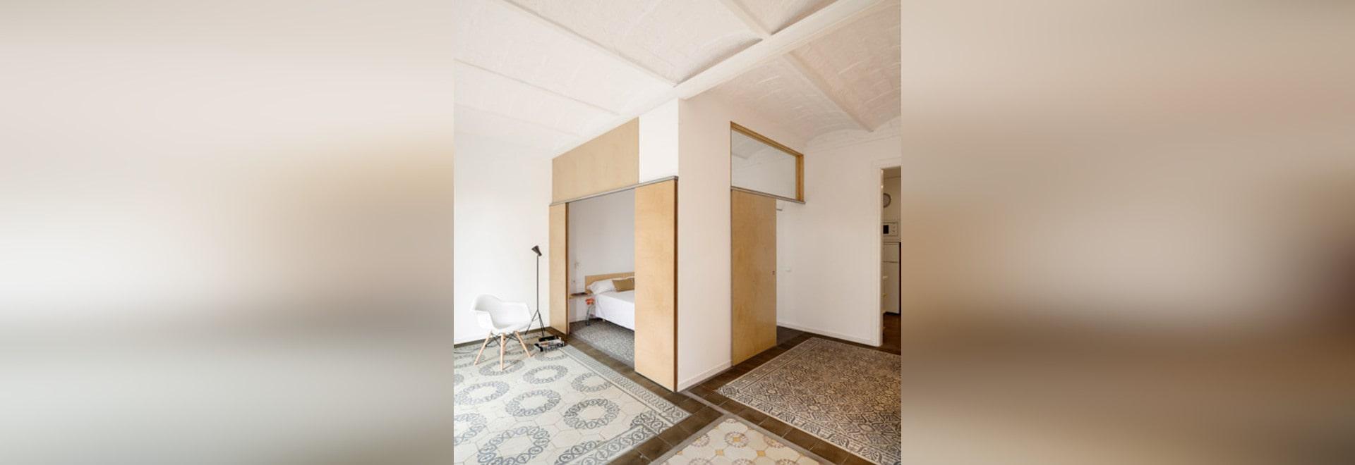 Adrian Elizalde erneuert Dreißigerjahre mit Ziegeln gedeckte Wohnung ...