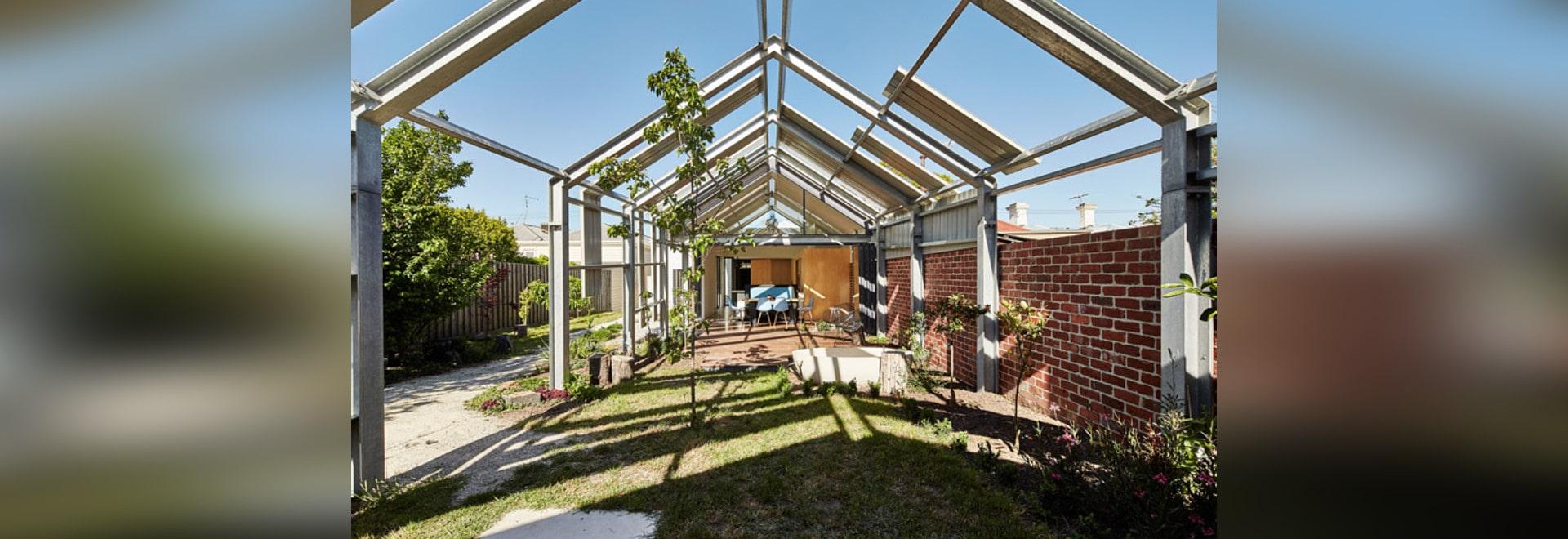 Superior Andrew Maynard Fügt Gewächshaus Wie Verlängerung Einem Melbourne Haus  Hinzu? Aber Lässt Es