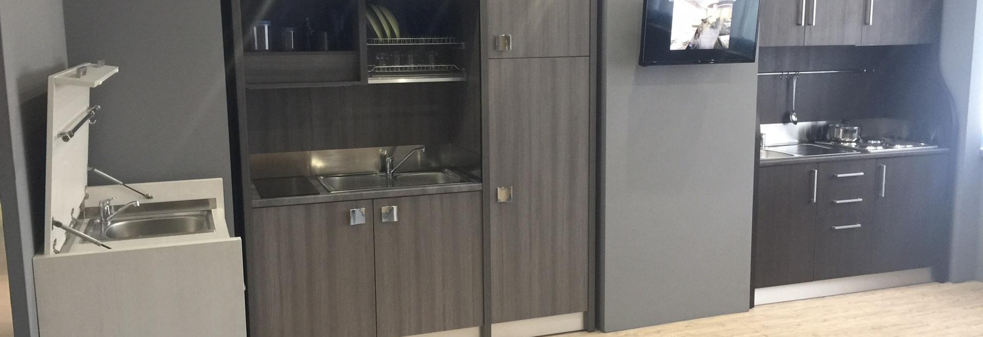 Ausstellungsraum - Miniküchen