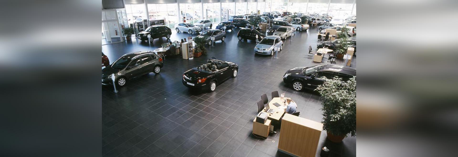 Ausstellungsraum Renault - kein Name