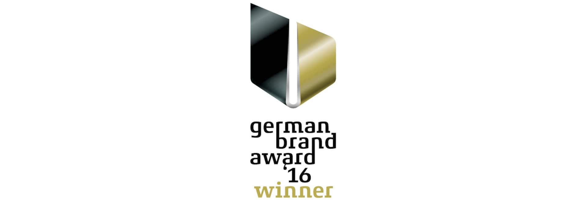 BRUNE gewinnt den German Brand Award 2016