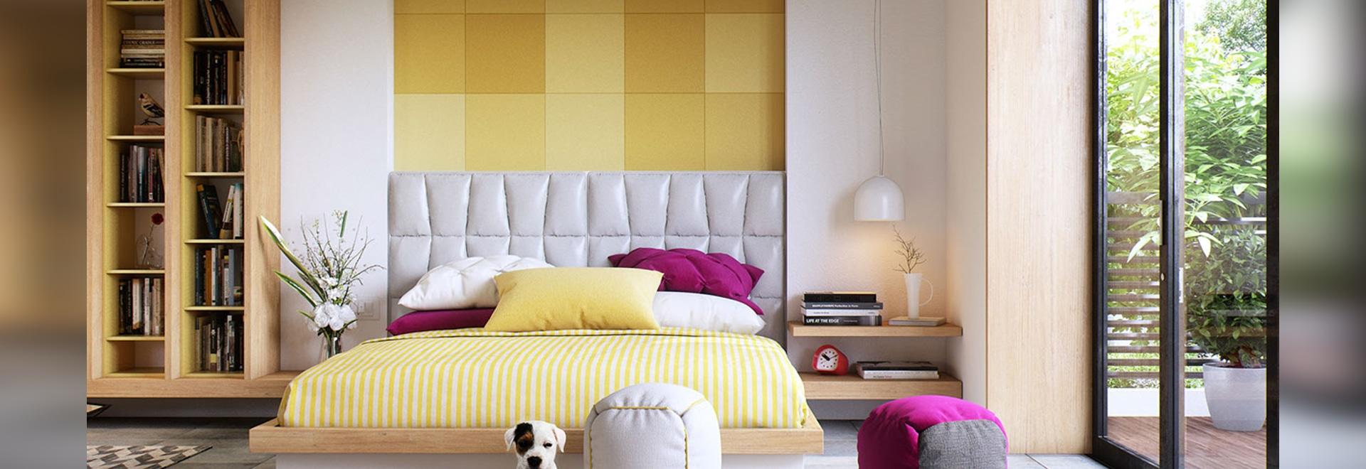 Schlafzimmer-Wand masert Ideen u. Inspiration - Delhi, India