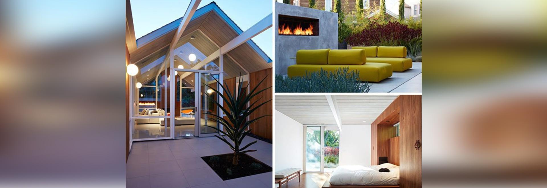 GroB Dieses Mitte Des Jahrhunderts Moderne Eichler Haus In Kalifornien Erhielt  Einen Zeitgenossen Umgestalten