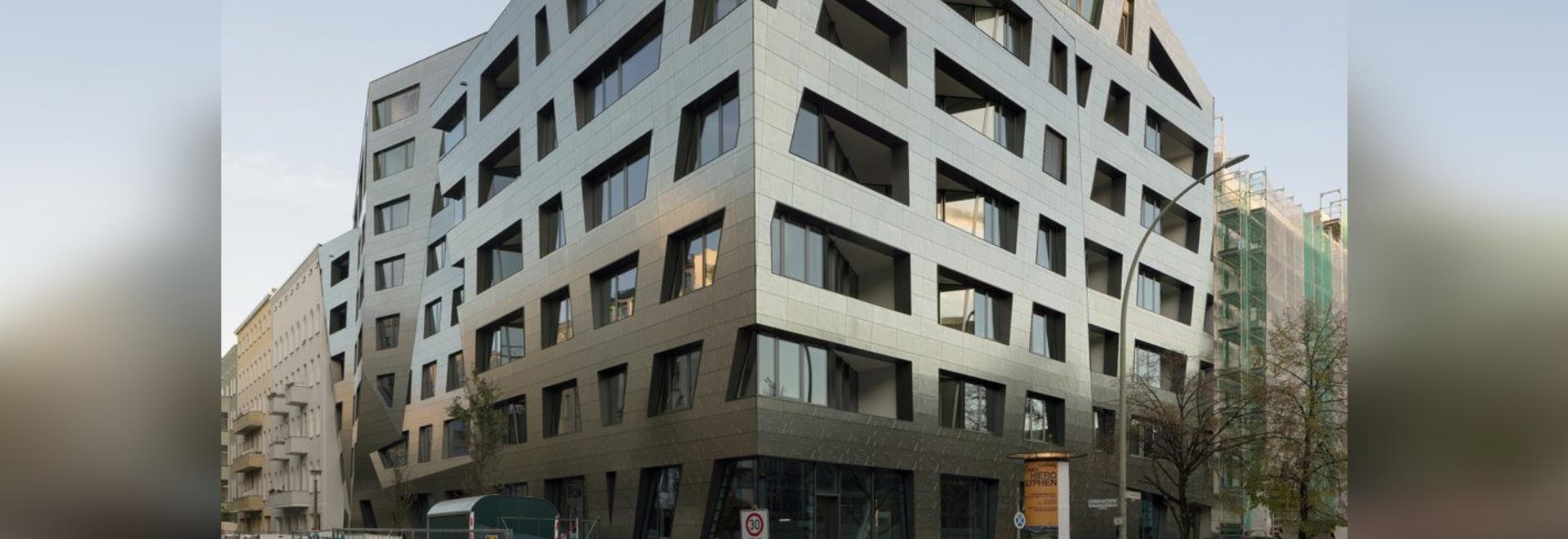 Superb Dieses Neue Berlin Wohngebäude Reinigt Buchstäblich Die Luft Der Stadt