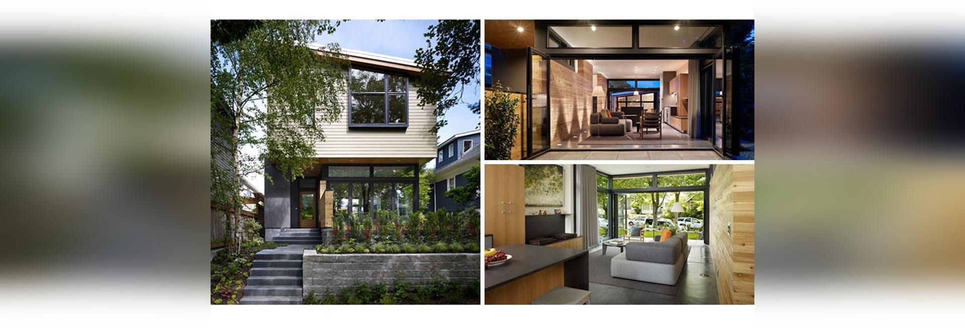 Ein einfaches Seattle-Haus für eine Familie, die mehr Raum benötigte ...