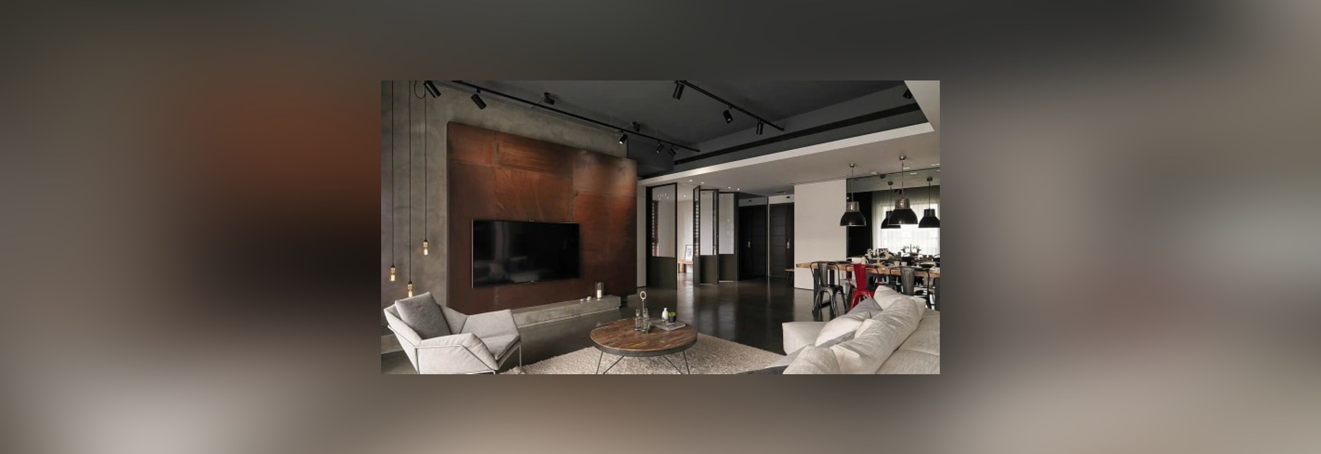 Asiatische Innenarchitektur neigt in zwei modernen Häusern [mit ...