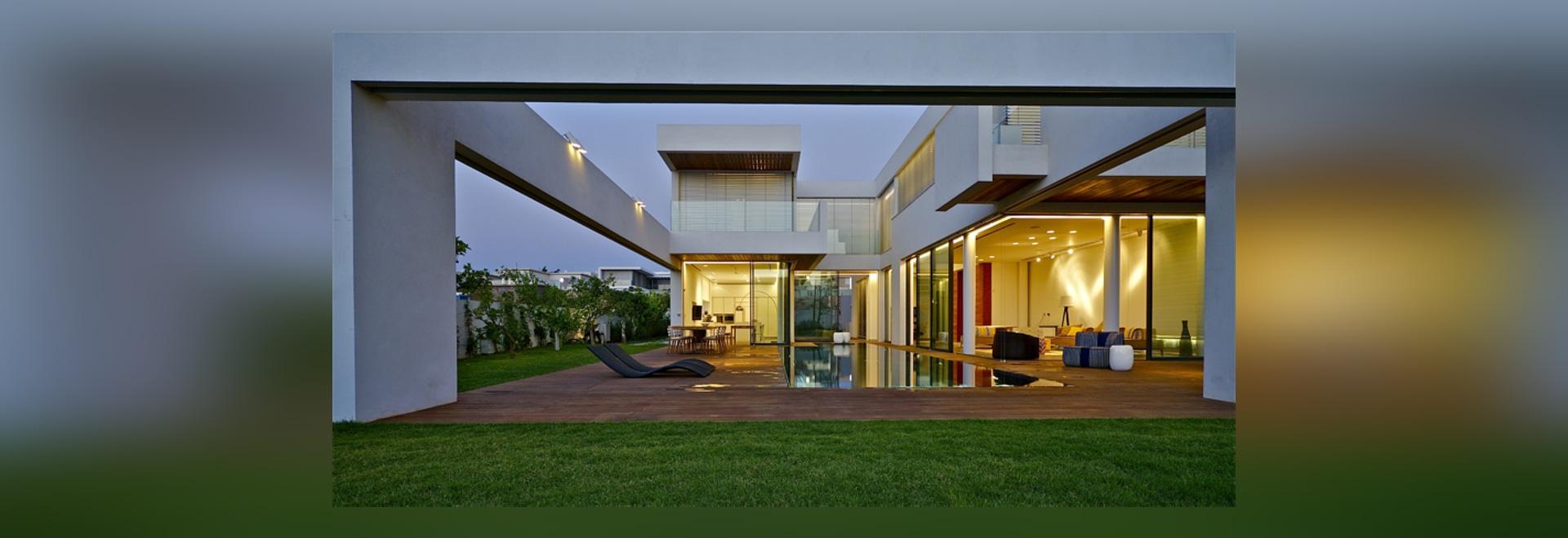 Gallone marom Architekten entwirft minimalistic Rückzug in Israel ...