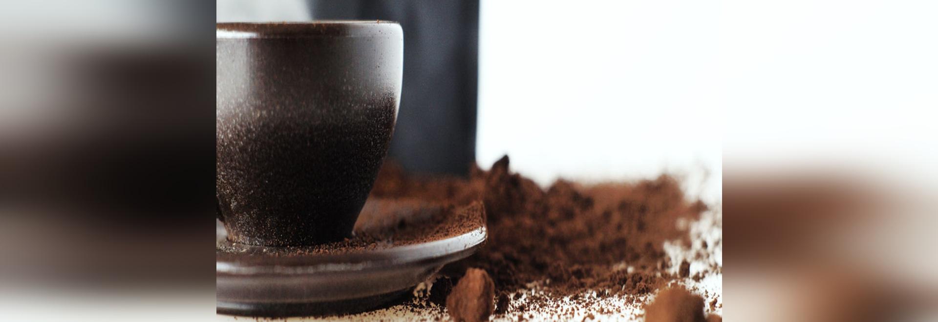 Höflichkeit von Kaffee-Form